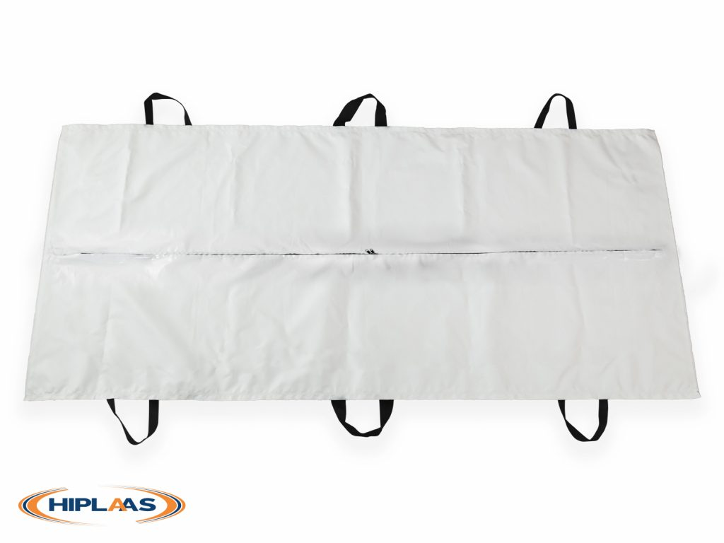 LDPE Adult Body bag straight zip with handles | 1011-01H
