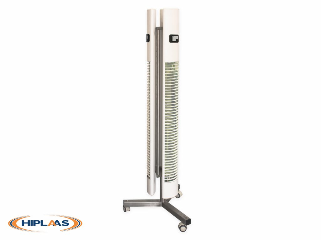 MOBILE GERMICIDAL LAMP DIRECTLY RADIATING 360° | EFFECTIVE DISINFECTION OF SURFACES AND AIR BY ULTRAVIOLET RADIATION / MOPGL1211